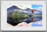Magnetic Dry Erase Glass Photo Frame for School/Office Decoration with En71/72/73