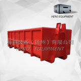 15m Customized Standard Heavy Duty Hook Lift Bin Roro Containers