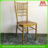 Promotional Cheap Price Stacking Metal Gold Tiffany Chiavari Chair