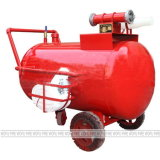 Half Fixed Foam Extinguishing Equipment Foam Bladder Tank