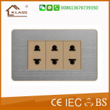 Hot New Products Triple Gang Two Pin Socket