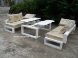 New Design Outdoor Bench and Table Garden Table