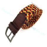 Nice Quality Braided Stretch Belt Customized Color Belt