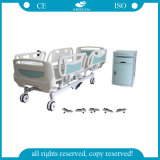 ABS Handrails Linak Motor 5 Function ICU Bed (AG-BY003B)