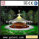 Q235 Steel Structure PVDF Cover Pemanent Circular Tent