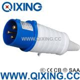 Commando 32A 3p Blue Industrial Plug