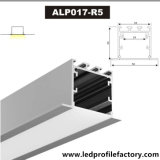 Alp017-R5 LED Extrusion Recessed Linear Lighting LED Aluminum Profile