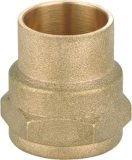 Good Quanlity Straight Brass Pipe Fittings (YD-6011)