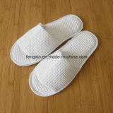 Open Toe Waffle Disposable Hotel Indoor Slipper