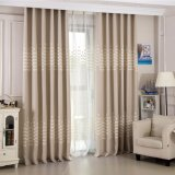 Hot Sale Modern Style Embroidery Blackout Window Curtain