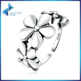 925 Sterling Silver Flower Poetic Daisy Cherry Blossom Finger Jewelry Fashionable Ring