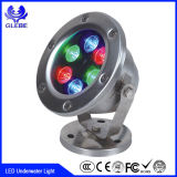 18W Swimming Pool Lighting Round Outdoor LED Underwater Light