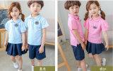 2017 Customized Fashion Stylish Primary Boy′s and Girl′s School Uniforms