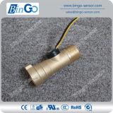 G1/2 Rate 1.5-30L/Min Brass Flow Sensor for Liquids, Water Flow Sensor for Pump