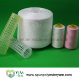 China 100% Virgin White Polyester Spun Yarn for Sewing Thread