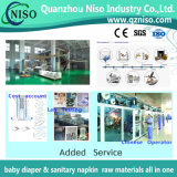 Professional Diaper Raw Materials Supplier in China with SGS (AZ-026)