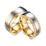 Custom Design Brass Dummy Wedding Rings for Jewelry Store Display, Men and Women Couple Wedding Bands