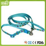 Carton Animal Head Pet Collar and Leash