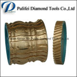Stone Grinding Profile Wheel Sintered Segment Diamond Grinding Wheel