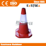 Durable 500mm Traffic Rubber Cone (DH-LZ-1)