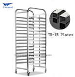 Knock Down Stainless Steel Bakery Bread Display Rack with Good Quality