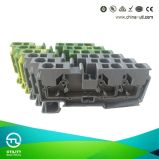 Dinrail Spring Terminal Block Jut14-4/2-2 Direct Plug-in Connector