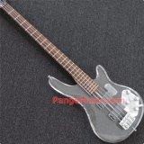Pango Acrylic 4 Strings Bass Guitar with LED Light (PBL-004)