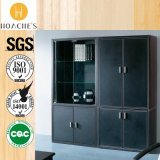 Fashionable Style Leather Book Storage Cabinet (G07)