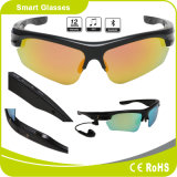 Polarized Interchangeable Lenses Earphone Touch Button Bluetooth Sunglasses