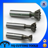 HSS 60 Degree Dovetail Groove Milling Cutter, Dovetail Slot Cutter