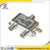 5-1000MHz CATV Splitter 2 Way 3 Way Indoor Splitter