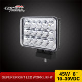High Low Sealed Beam 4X6 45W LED Work Light Headlight