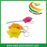 Pig Shape Mini Tape Measure Custom for Promotional Gift