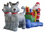 Hot Sale Inflatable Christmas Decoration for Christmas Day (CYAD-551)