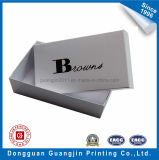 White Color Paper Cardboard Shoe Packaging Box with Matt Lamination