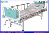 ISO/CE Hospital Furniture Manual Double-Crank No Castors Medical Nursing Beds