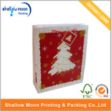 Merry Christmas Tree Congratulations Red Paper Shopping Bag (QY150256)