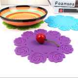 Flexible Silicone Trivet Table Coaster Placemat Pad with 100% Food FDA