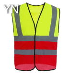 High Visibility Protective Safety Jacket/ Vest with Reflective Tape