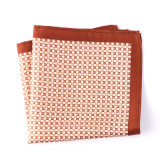 Luxury Silk Polyester Dots Printed Pocket Square Hanky Handkerchief