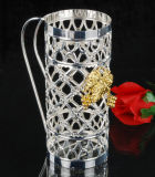 Silver Plated Wine Rack (WY17239D-1)