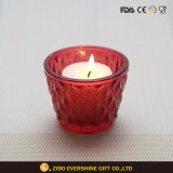Colored Glass Candle Holder for Wedding Decoration
