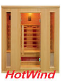 2017 Hotwind Hemlock Far Infrared Sauna for 4 Person-Ap4
