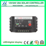 Wholesale Price 12V/24V 20A Solar Charge Controller (QWP-SC2024D)