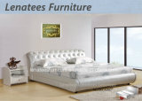 A007 Modern Leather French Bedroom Furniture
