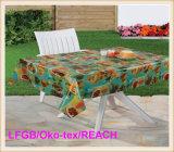 PVC Full Printed Transparent Tablecloth (TT0222)