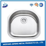 Customized Precision Alloy Stamping Metal Double Bowl Small Stainless Steel Sink