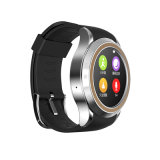 Round Screen Bluetooth Smart Watch with SIM Card Phone