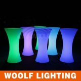 LED Lighted Garden Party Bar Tables