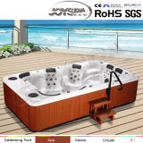 New Outdoor Rectangle Hot Tub SPA with Massage Function